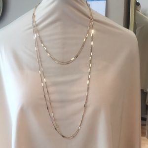 Jewelry - Four Strand Gold-Toned Necklace - Excellent